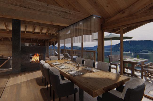 Tauern Villa diningroom
