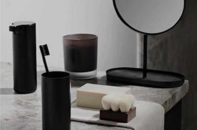 Blomus bathroom accessoires black