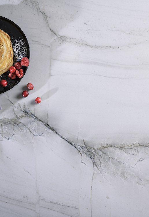 white marble counter stone strasser