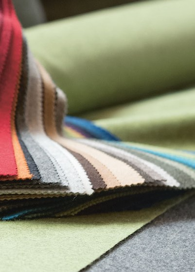 Steiner fabric color banner